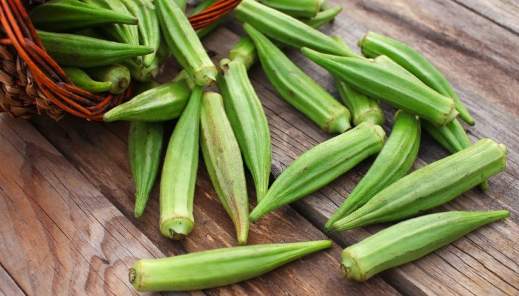 Okra to protect the heart and control blood sugar