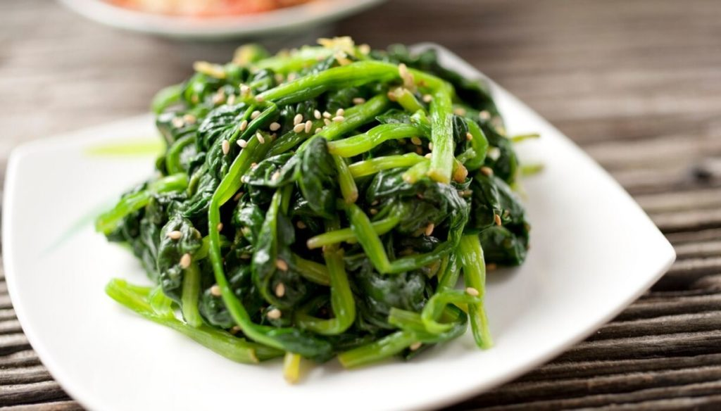 Spinach diet: regulate the intestine and strengthen the immune system