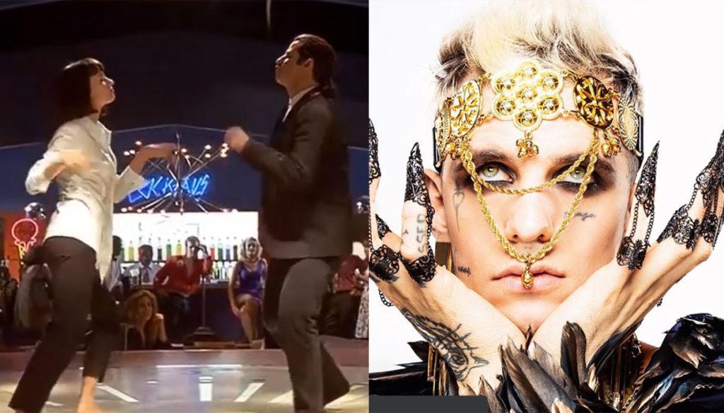 """Bam Bam Twist"", new single by Achille Lauro tribute to Tarantino"
