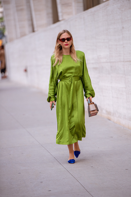 Silk dress: how to wear the silk dress in style