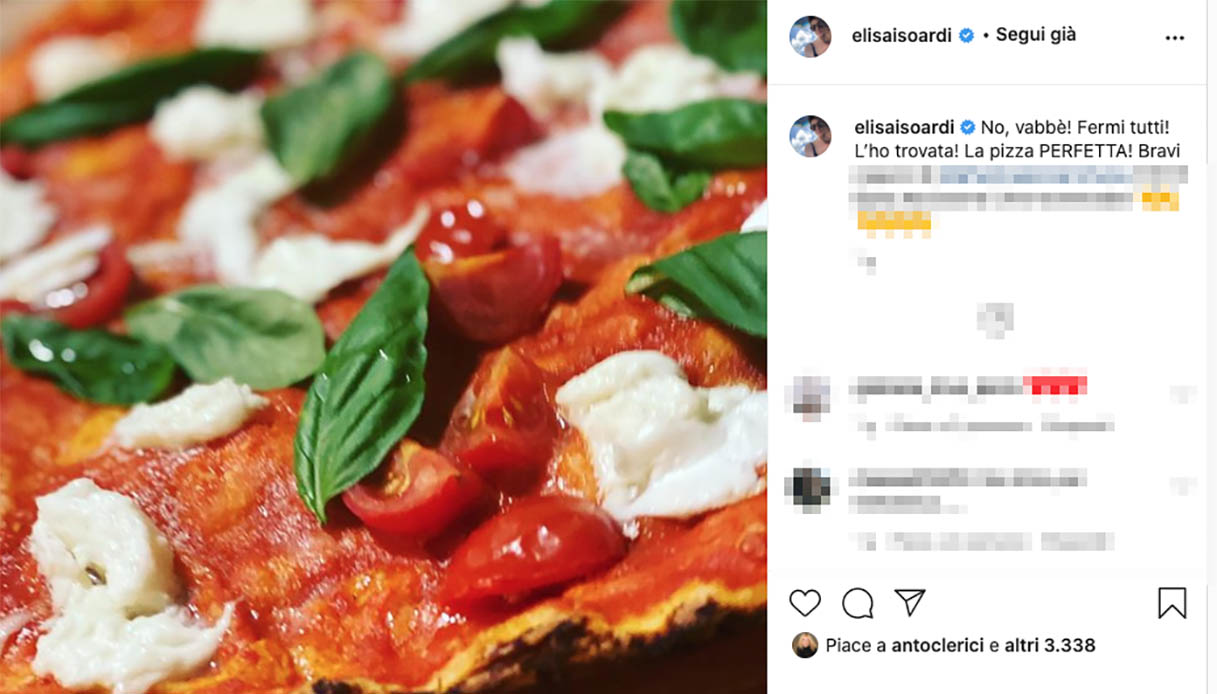Elisa Isoardi's post on Instagram