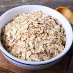 Diet with oat bran: relieves hunger and deflates
