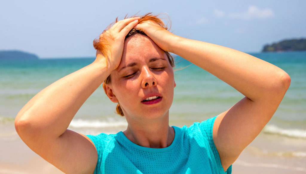 Heat stroke and heat ailments, how to recognize them and deal with them