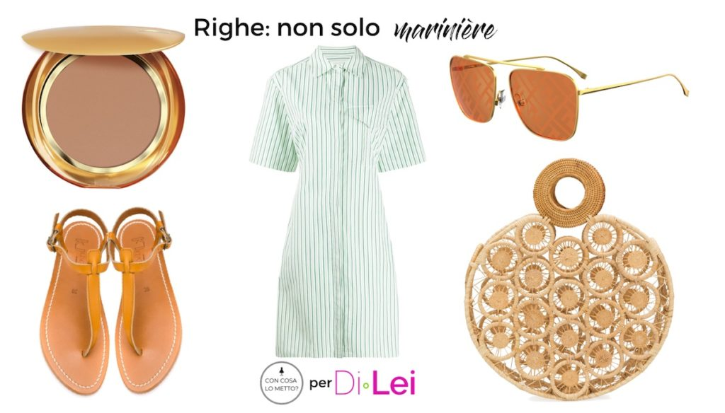 How to match the stripes in the summer (marinière aside!)