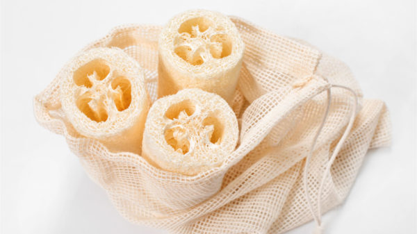 How to use natural loofah sponge