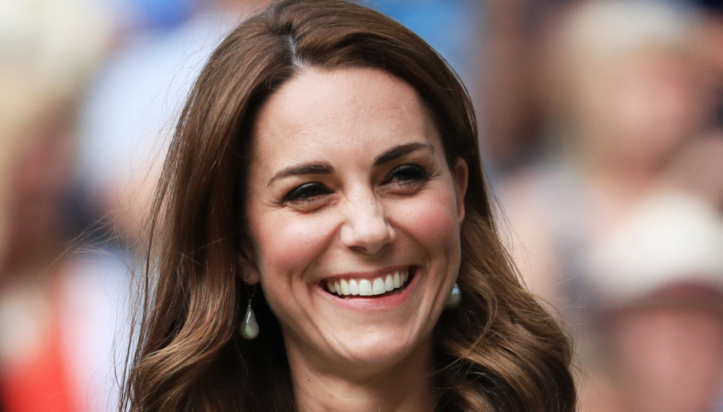 Kate Middleton does not give up on Wimbledon and the look is surprising