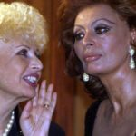 Sophia Loren e la sorella Maria Scicolone