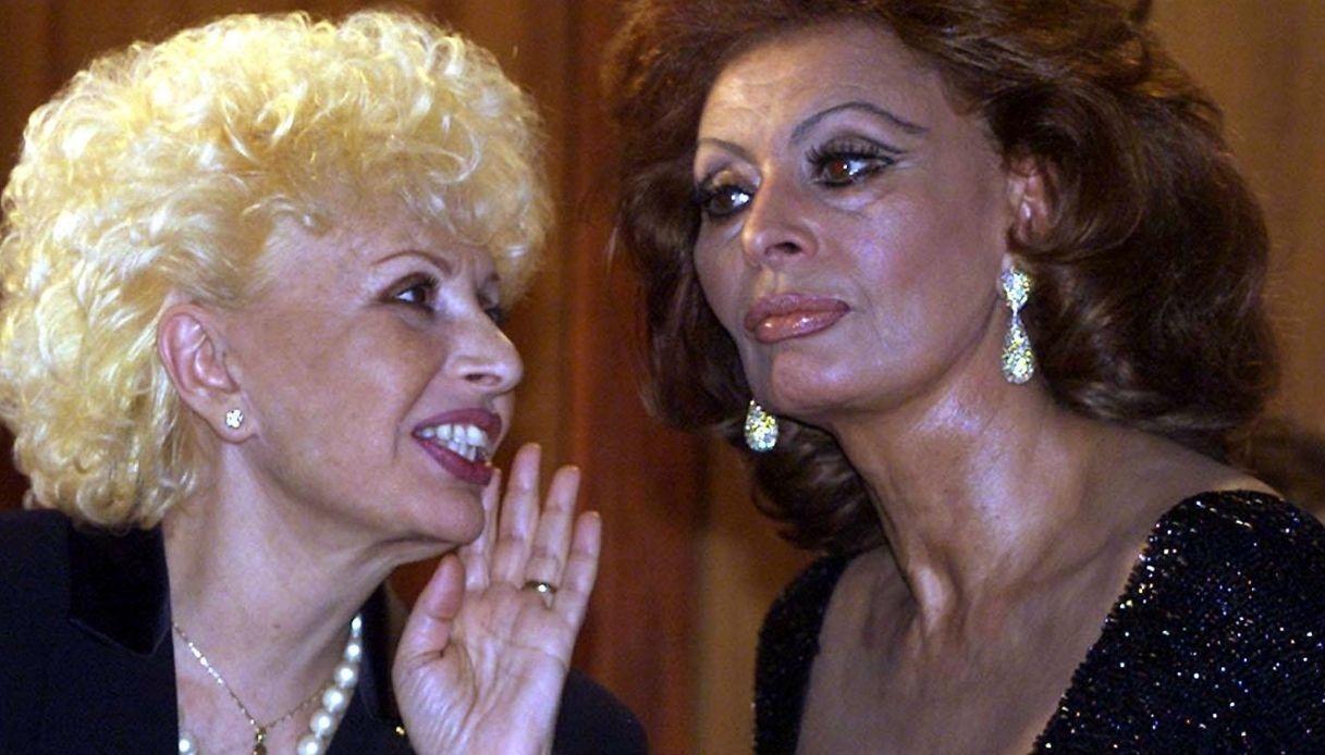 Sophia Loren and her sister Maria Scicolone