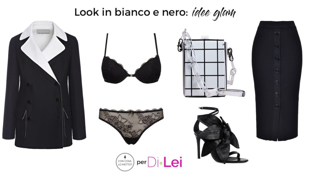 Black and white look ideas: how to create a glamorous outfit