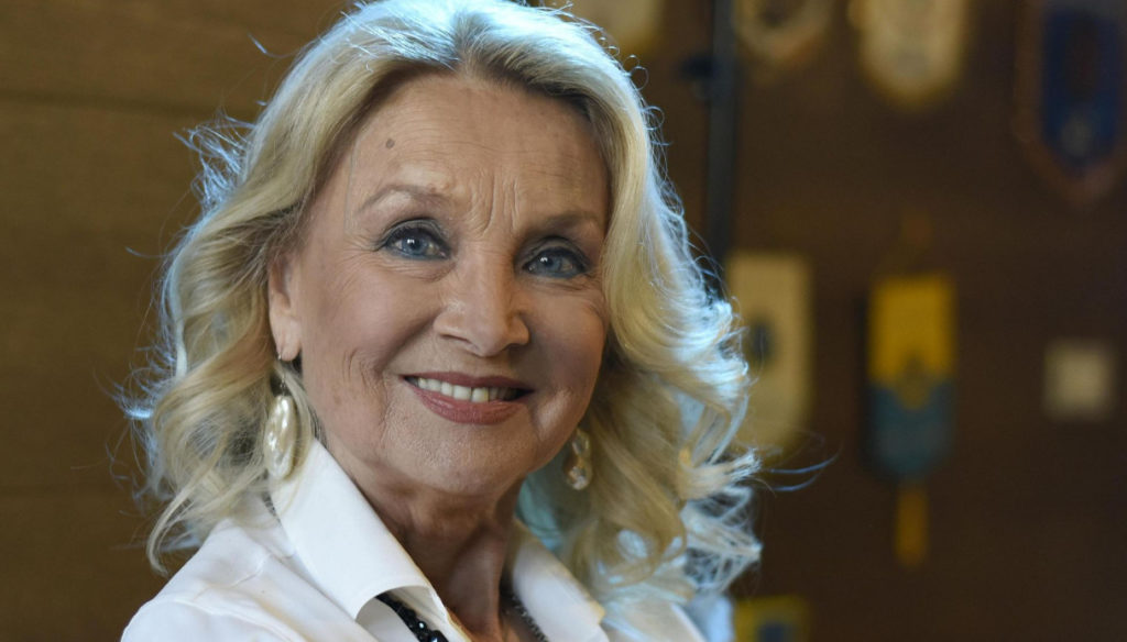 You and I, Barbara Bouchet confesses to Diaco: the relationship with beauty and the background on Ballando