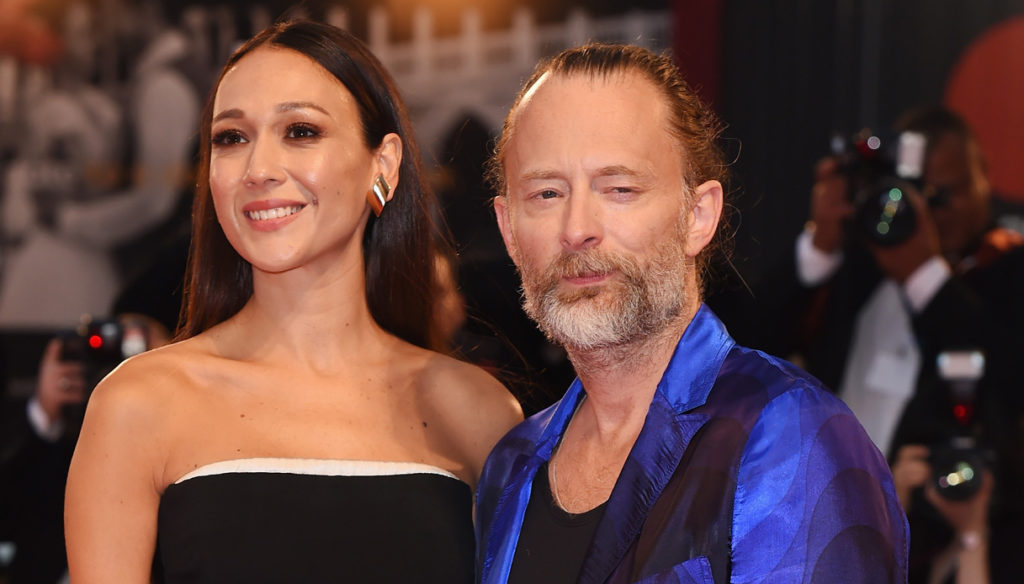 The leader of Radiohead marries the beautiful Dajana Roncione: a fairytale wedding