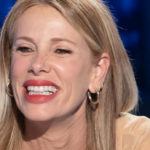 Alessia Marcuzzi, a letter excites you: she reciprocates with her most beautiful smile
