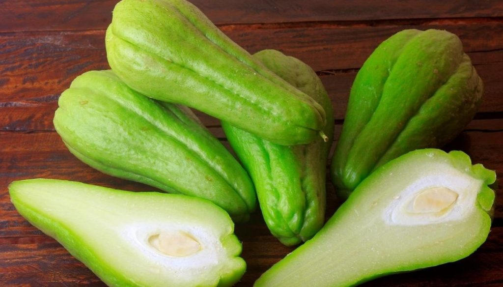 Chayote to lose weight and protect the heart