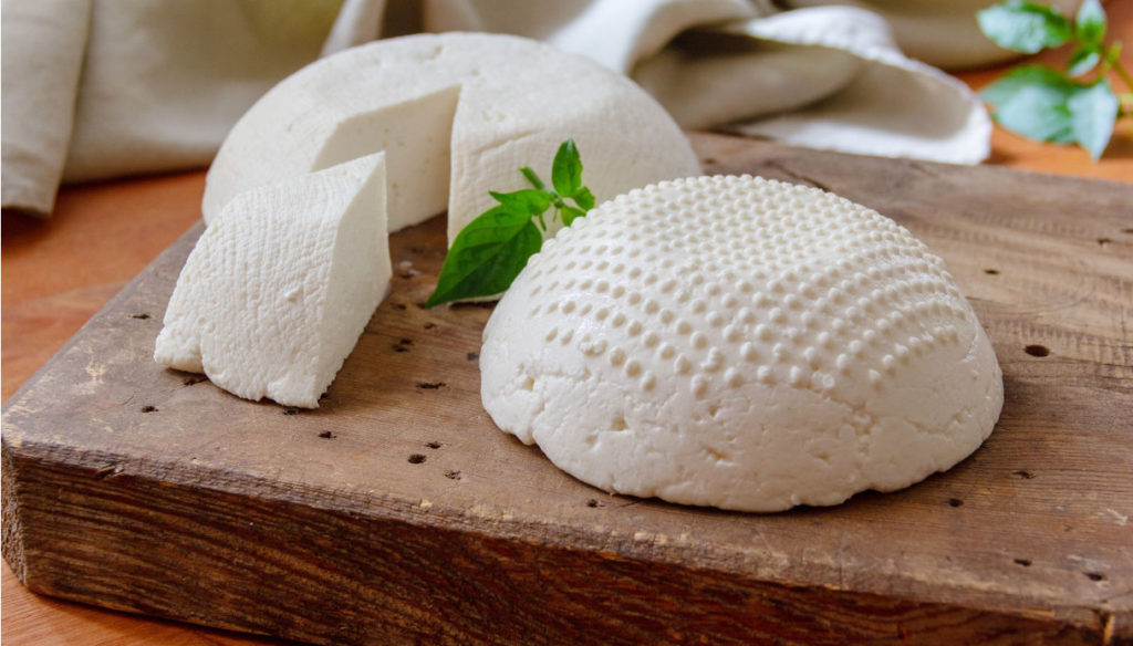 Diet with goat ricotta for the proper functioning of the metabolism