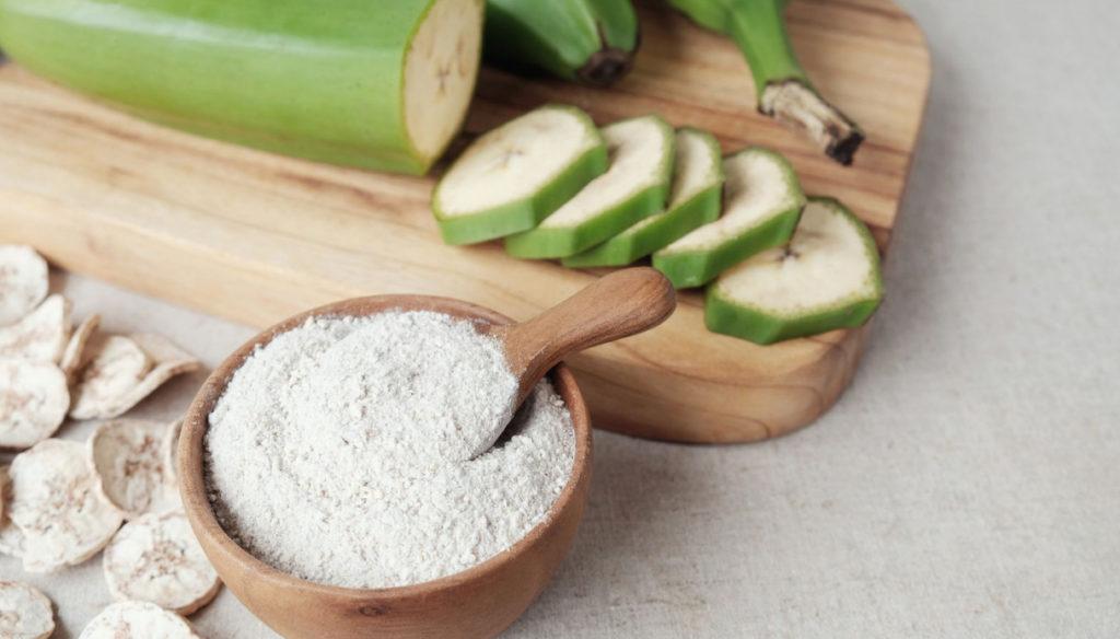 Green banana flour to improve digestion