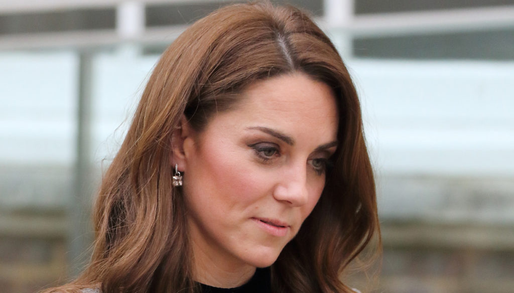 Kate Middleton, the peace gesture that Meghan Markle refused