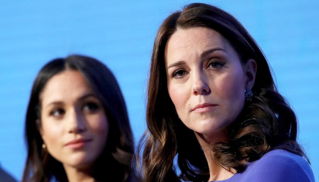 Meghan Markle and Kate Middleton, Carlo takes sides