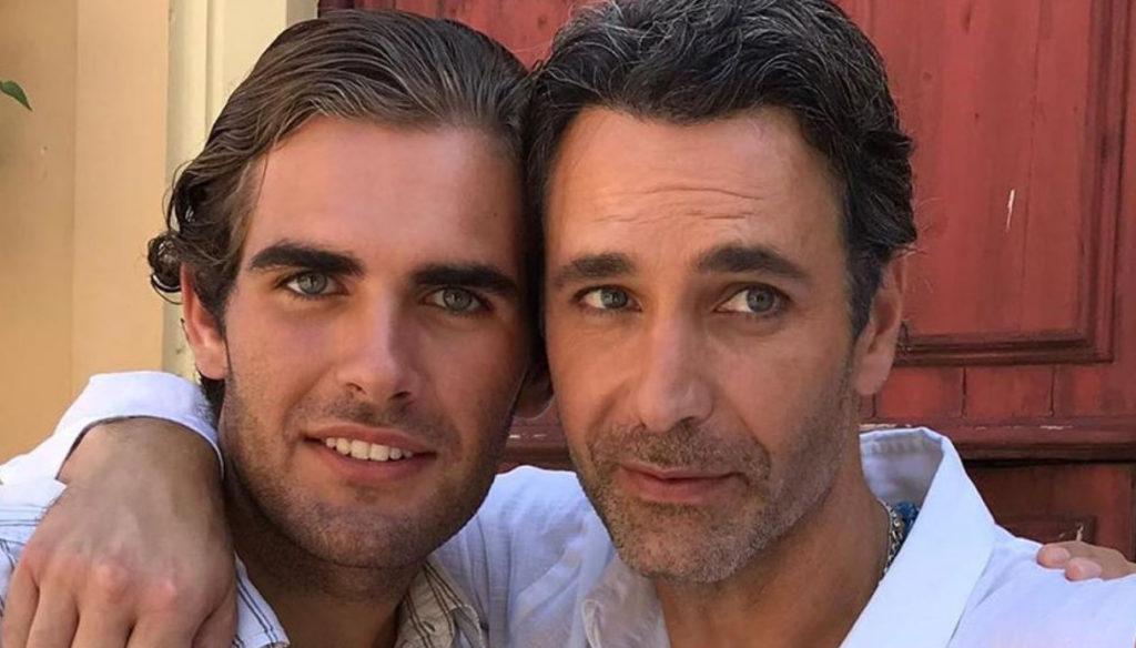 Who is Mattia, Raoul Bova's beautiful nephew