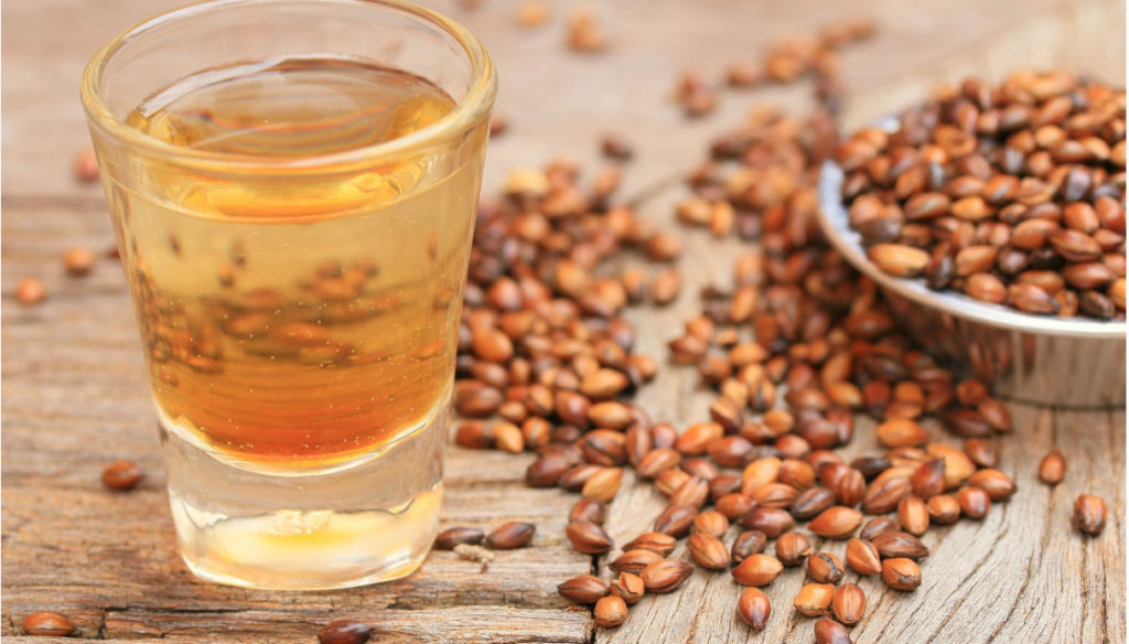 Barley tea, low-calorie and rich in antioxidants