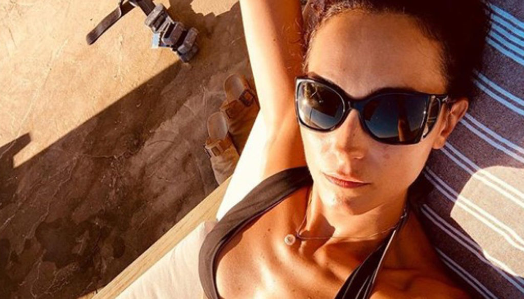 Caterina Balivo, the photo of a top model in bikini enchants Instagram