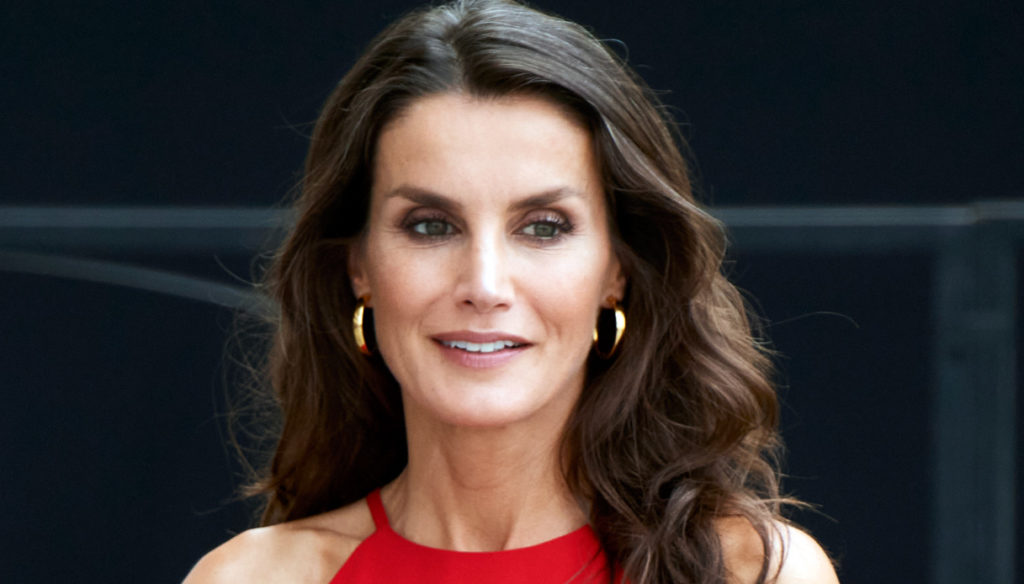 Letizia of Spain turns 48 and enchants. While her gray hair is trendy