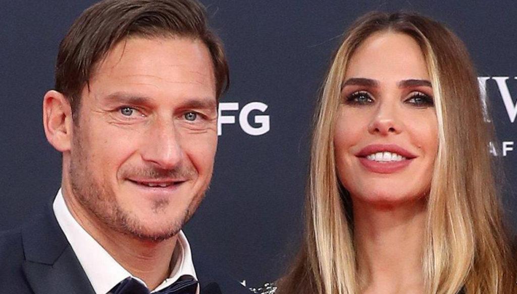 Ilary Blasi, romantic wishes for Francesco Totti's birthday