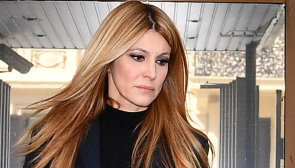 Adriana Volpe and her husband Roberto Parli: quarrel on the street and tension