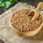 Buckwheat. Its grains purify the body and reduce blood sugar