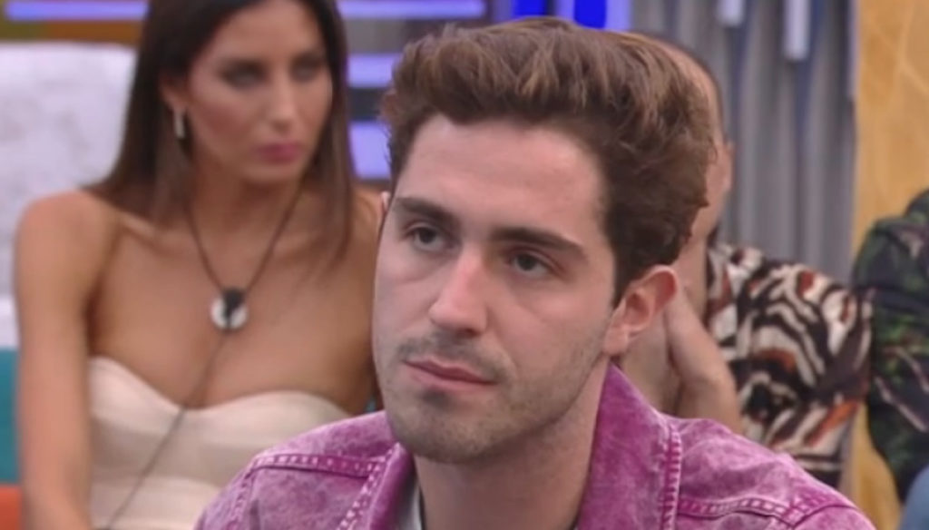 GF Vip, Zorzi argues with Signorini after the words about Gabriel Garko