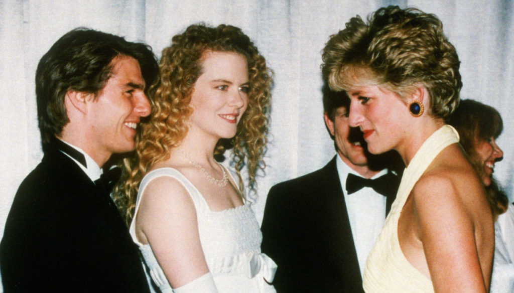 Lady Diana, the special bond with Tom Cruise that made Nicole Kidman jealous