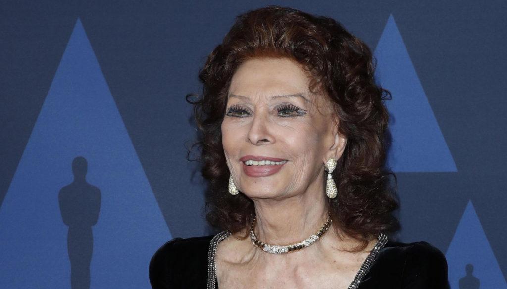 Sophia Loren, 86 years old as a timeless icon