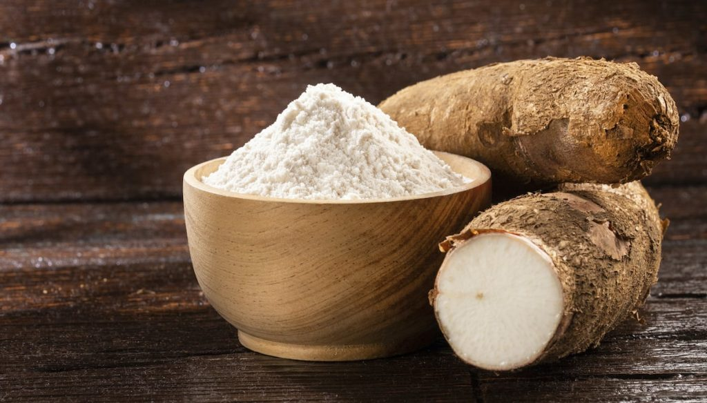 Cassava, fill up on vitamins and fight hypertension