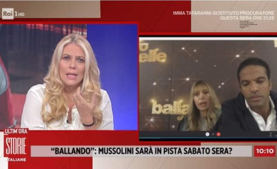 Alessandra Mussolini Eleonora Daniele