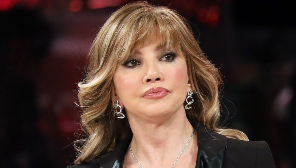 "Dancing with the Stars, Milly Carlucci on Elisa Isoardi's injury: ""Ankle compromised"""