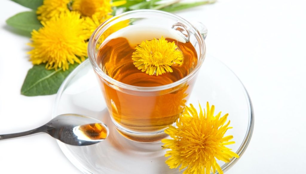 Dandelion, reduces inflammation and fights high cholesterol