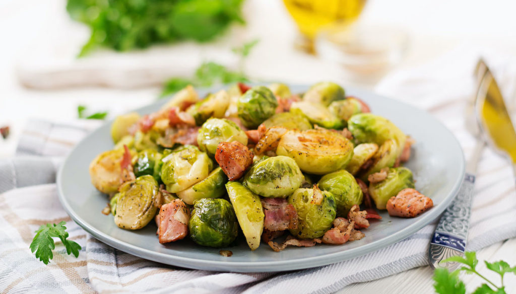 Diet with Brussels sprouts, rich in antioxidants for heart health