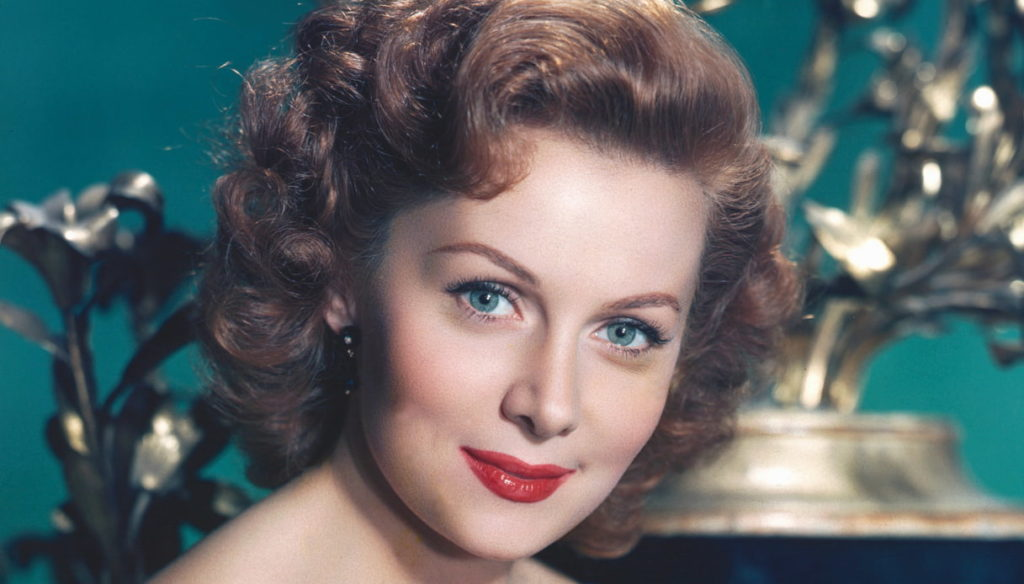 Farewell to actress Rhonda Fleming, queen of technicolor and Hitchcock's muse