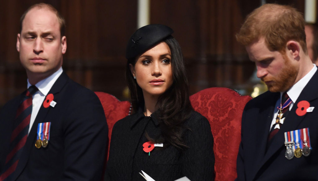 Meghan Markle and Harry, William's judgment that condemns them