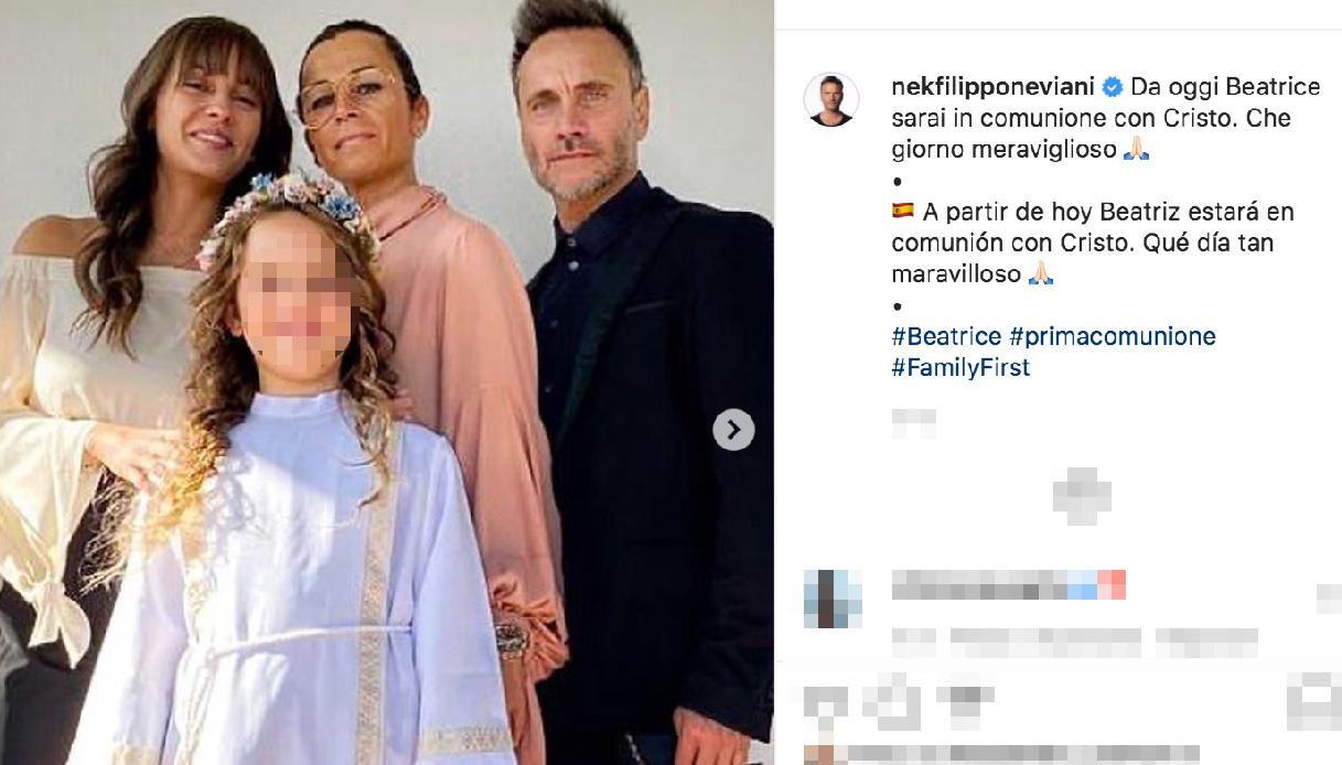 Nek and the Instagram family