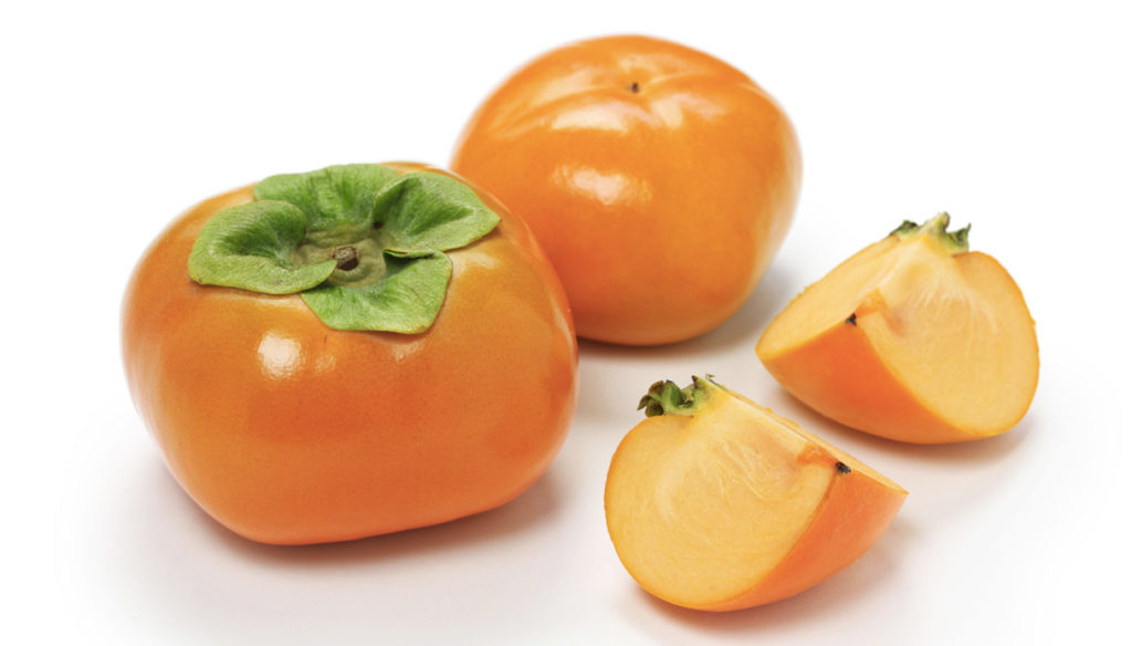 Persimmon. Autumn fruits that give you a boost of energy