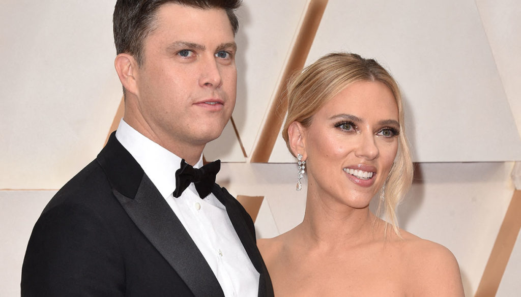 Scarlett Johansson (re) said yes: third marriage with Colin Jost