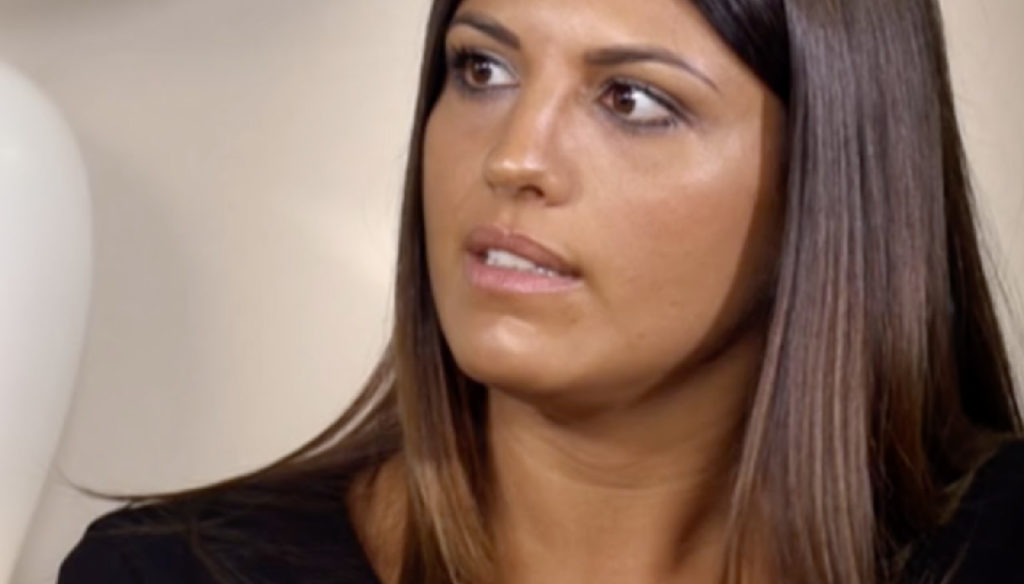 Temptation, final episode for Marcuzzi. Speranza has a confrontation with Nunzia