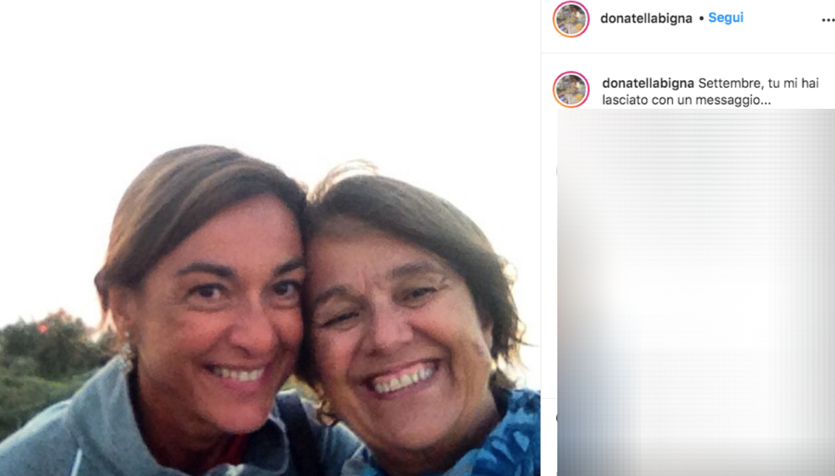 Donatella, the sister of Daria Bignardi Instagram