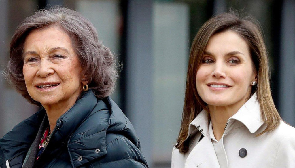 Letizia of Spain, the special day: the 82 years of Queen Sofia and the love with Felipe