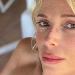 Alessia Marcuzzi without veils on Instagram: at 48 she is splendid