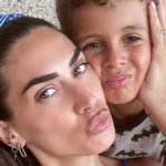 "Melissa Satta and her son with Covid: ""High fever and fainting, it was hard"""
