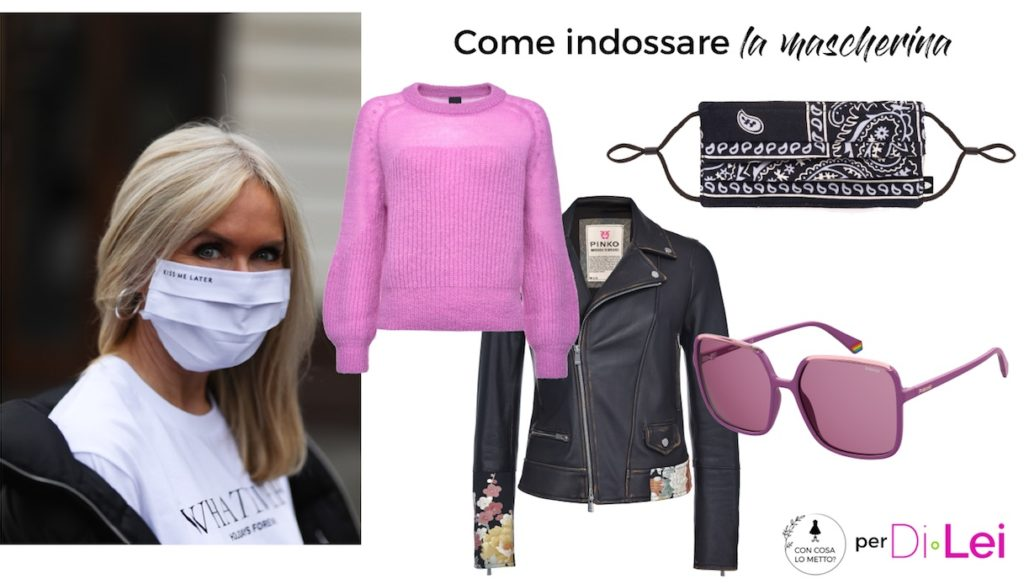 How to wear the mask with style