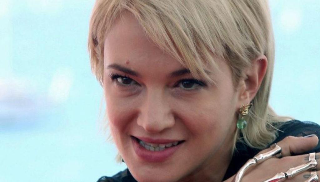 Asia Argento and Fabrizio Corona, face to face on TV
