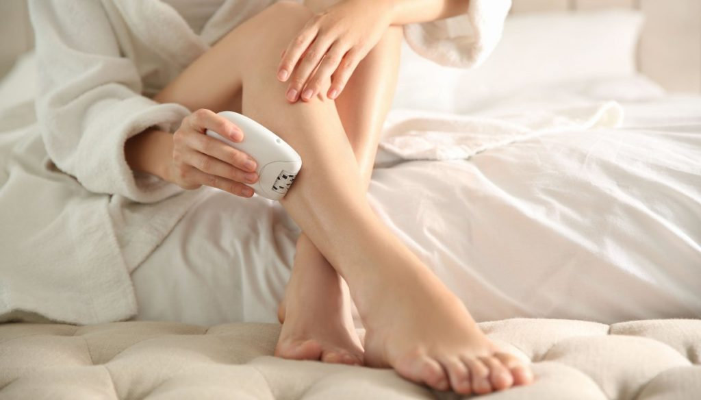 Electric epilator: all the tips to use it correctly