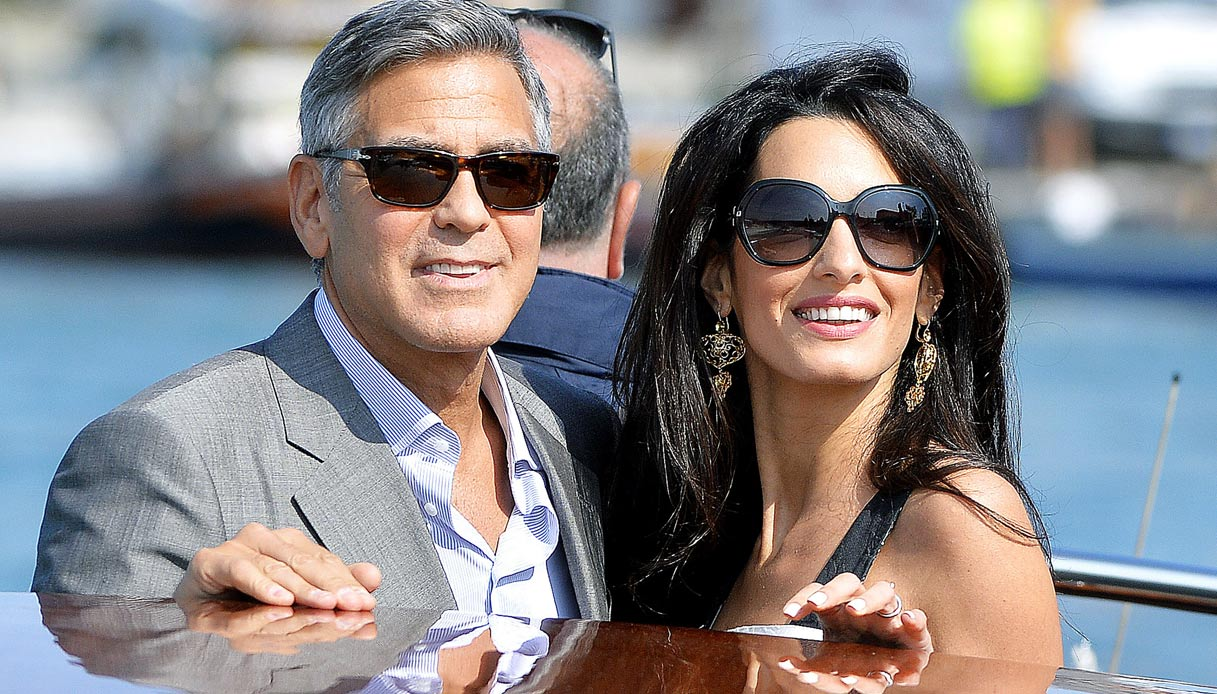 George Amal Clooney wedding